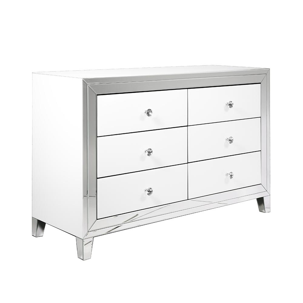 White Mirror Sideboard GY-WHT005